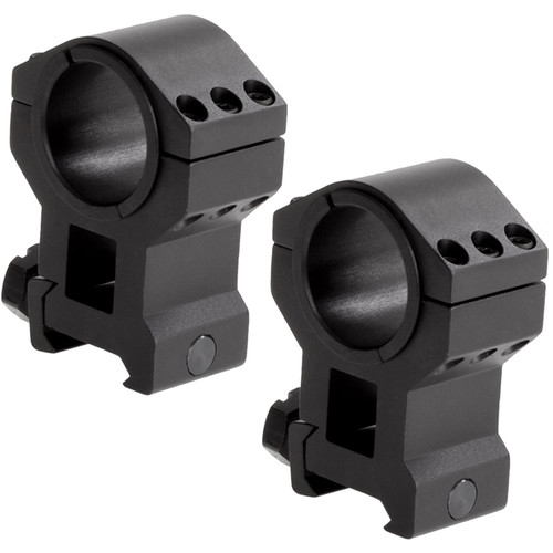"""Sun Optics Tac-X 30mm Riflescope Rings with 1"""" Inserts (Extra High)"""