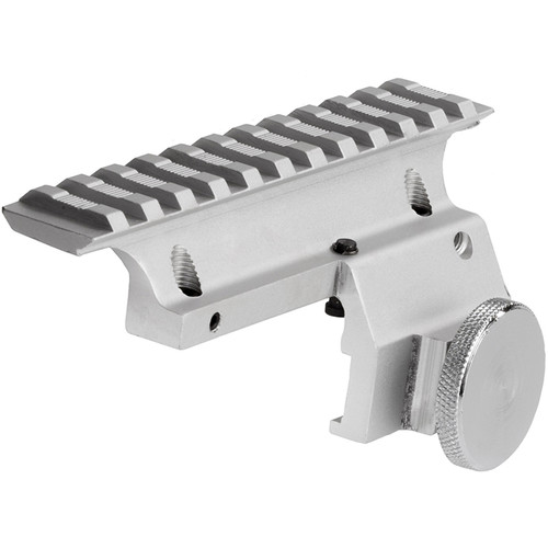 Sun Optics 1-Piece Aluminum Scope Base for Ruger Mini 14 (Stainless)