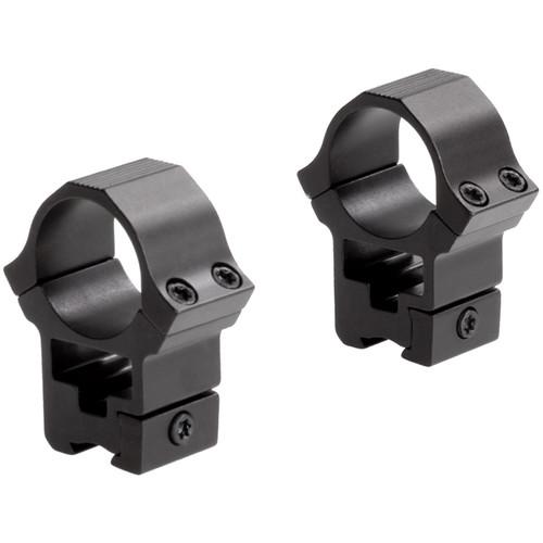 "Sun Optics 22 Type High Aluminum Riflescope Rings for 3/8""-11mm Dovetail (1"", Black)"