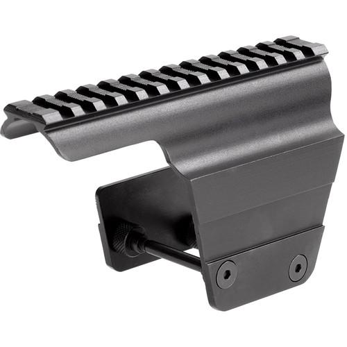 Sun Optics 1-Piece Aluminum Scope Base for AK-47, MAC-90 (Black)
