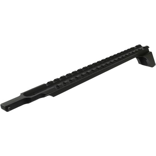 Sun Optics 1-Piece Aluminum Scope Base for AK-47 (Black)