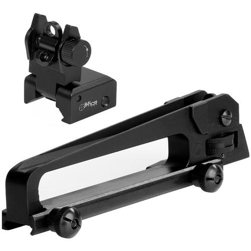 Sun Optics AR Carry Handle with AR Front Sight Combo