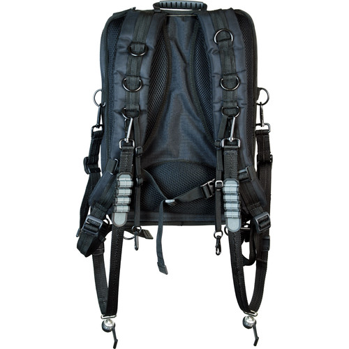 Sun-Sniper ROTABALL-TPH Harness with Backpack (Black)