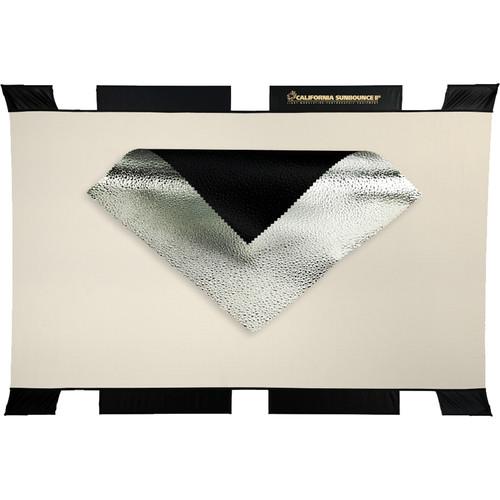 Sunbounce 3D Raindrops Silver Sun Bouncer Pro Screen Reflector (4 x 6')