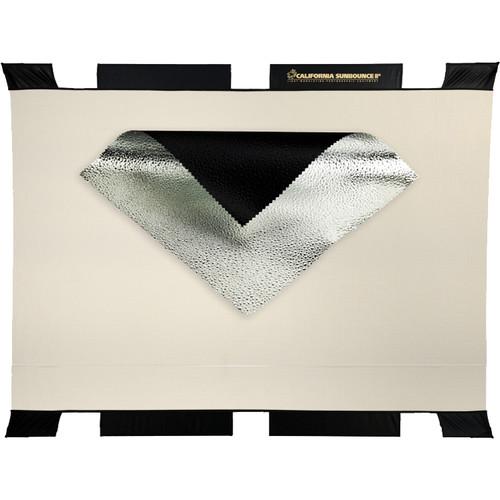 Sunbounce 3D Raindrops Silver Sun Bouncer Big Screen Reflector (6 x 8')