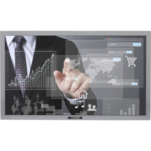 "SunBriteTV Pro Series DS-4217TSP 42"" True-Outdoor All-Weather Touchscreen Landscape Digital Signage (Sliver)"