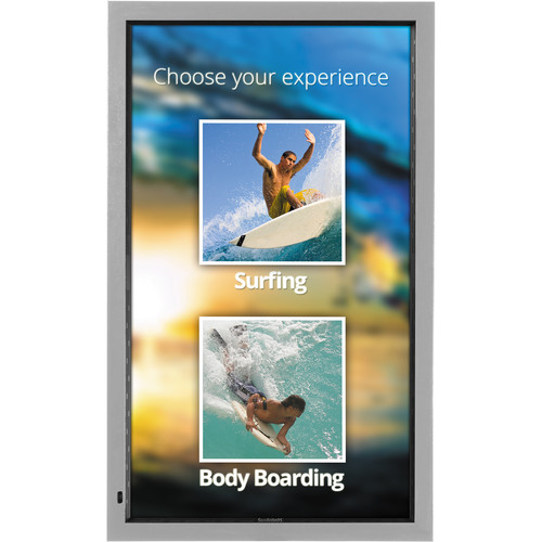 "SunBriteTV DS-4717TSP-SL 47"" Pro Weatherproof Touchscreen LED - Portrait Mode (Silver)"
