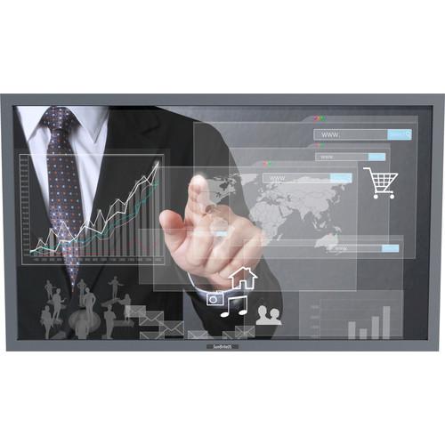 "SunBriteTV Pro Series DS-5518TSP 55"" True-Outdoor All-Weather Touchscreen Landscape Digital Signage (Sliver)"
