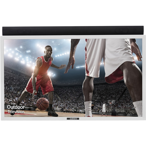 "SunBriteTV Pro-Series 49""-Class Full HD Outdoor LED TV (White)"