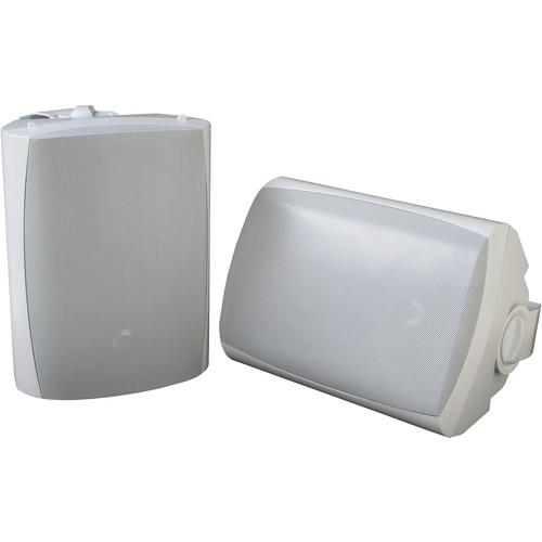 SunBriteTV SB-AW-6 Surface-Mount Outdoor Speakers (Pair, White)