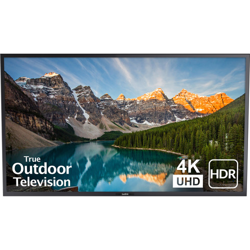 "SunBriteTV Signature 2 65"" Class HDR 4K UHD Outdoor LED TV (Black)"