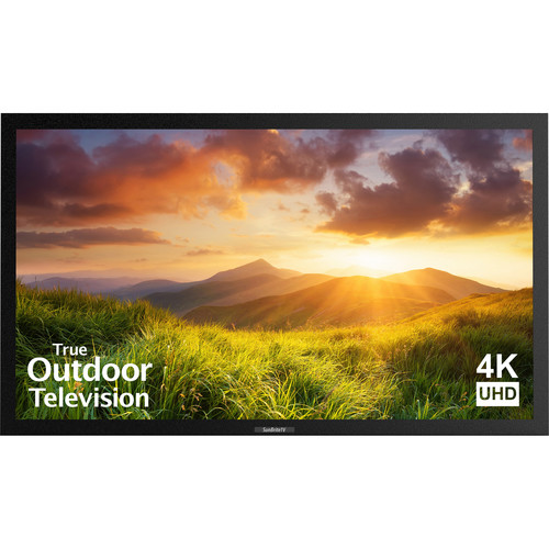 "SunBriteTV Signature Series 55""-Class UHD Outdoor LED TV (Black)"