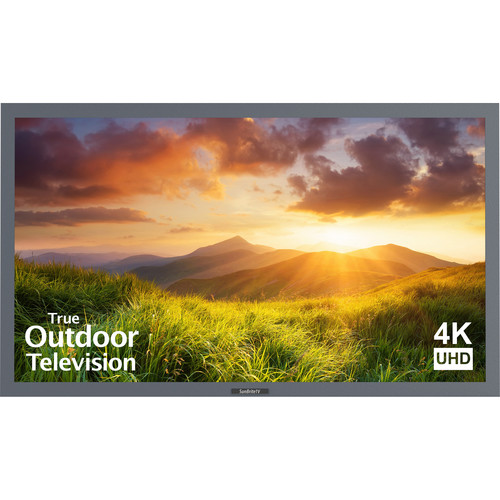 "SunBriteTV Signature Series 55""-Class UHD Outdoor LED TV (Silver)"