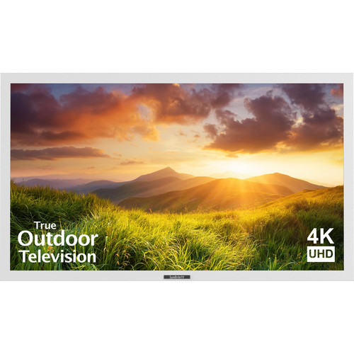 "SunBriteTV Signature Series 55""-Class UHD Outdoor LED TV (White)"