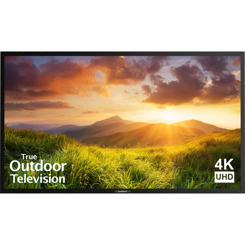 "SunBriteTV Signature Series 65""-Class UHD Outdoor LED TV (Black)"