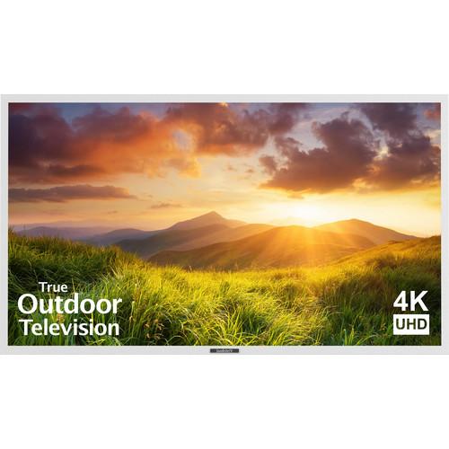 "SunBriteTV Signature Series 65""-Class UHD Outdoor LED TV (White)"