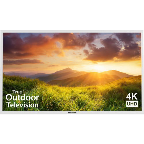 "SunBriteTV 75"" Signature Series 4K Ultra HD Partial Sun Outdoor TV (White)"