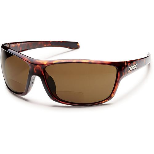 SUNCLOUD OPTICS Conductor Reader Sunglasses 2.5x (Tortoise Frames, Brown Polarized Lenses)