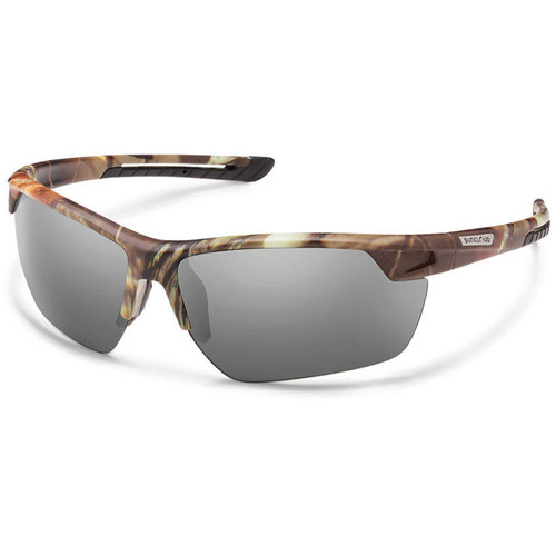 SUNCLOUD OPTICS Contender Sunglasses (Matte Camo Frames, Gray Polarized Lenses)