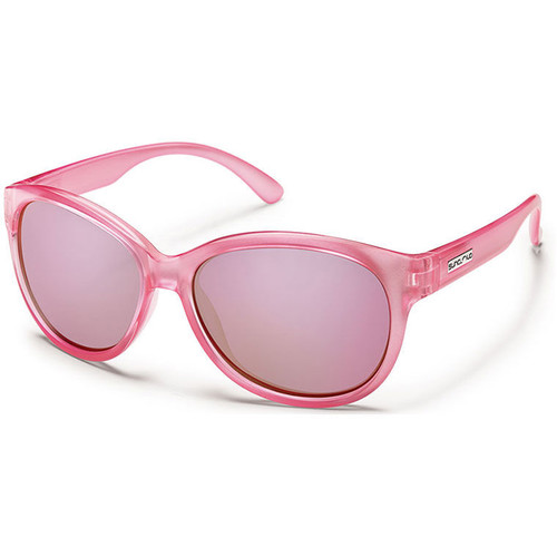 SUNCLOUD OPTICS Catnip Sunglasses (Pink Backpaint Frames, Pink Mirror Polarized Lenses)