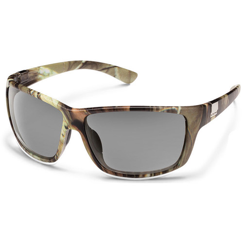 SUNCLOUD OPTICS Councilman Sunglasses (Matte Camo Frames, Gray Polarized Lenses)