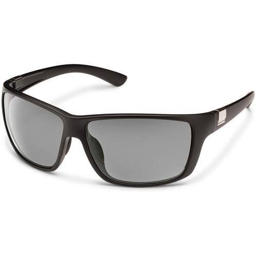 SUNCLOUD OPTICS Councilman Sunglasses (Matte Black Frames, Gray Polarized Lenses)