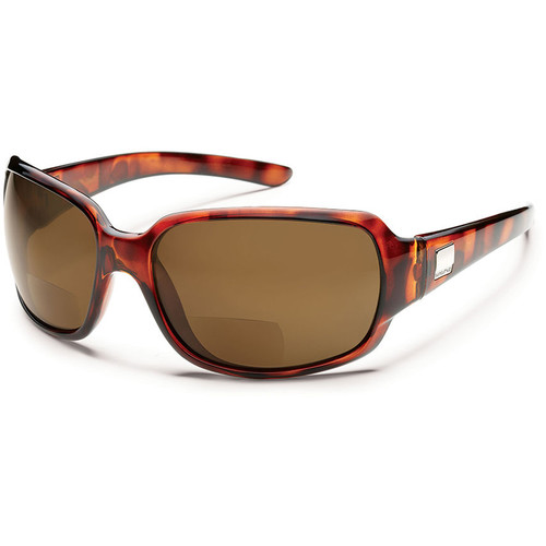 SUNCLOUD OPTICS Cookie Reader Sunglasses 2.0x (Tortoise Frames, Brown Polarized Lenses)