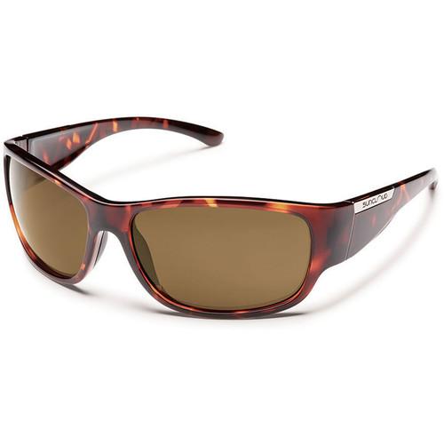 SUNCLOUD OPTICS Convoy Sunglasses (Tortoise Frames, Brown Polarized Lenses)