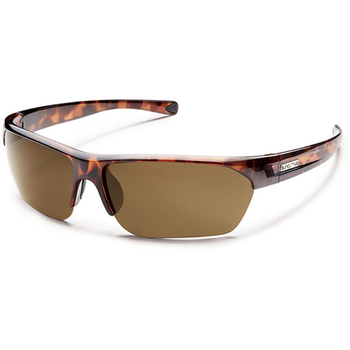 SUNCLOUD OPTICS Detour Sunglasses (Tortoise Frames, Brown Polarized Lenses)