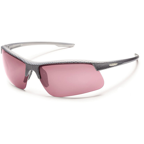 SUNCLOUD OPTICS Flyer Sunglasses (Carbon Frames, Rose Polarized Lenses)