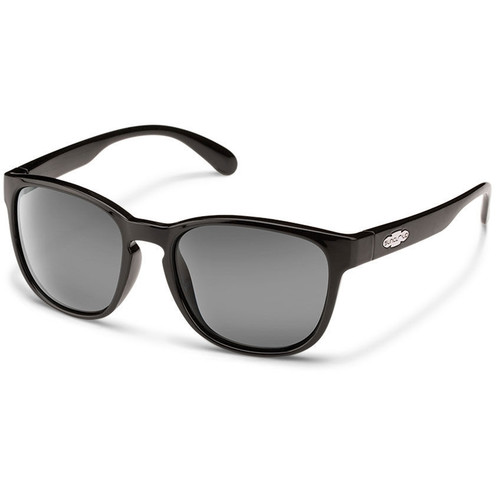 SUNCLOUD OPTICS Loveseat Sunglasses (Black Frames, Gray Polarized Lenses)