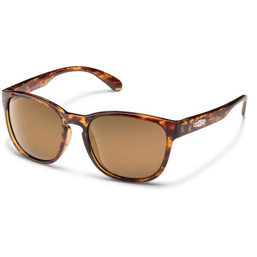 SUNCLOUD OPTICS Loveseat Sunglasses (Tortoise Frames, Sienna Mirror Polarized Lenses)