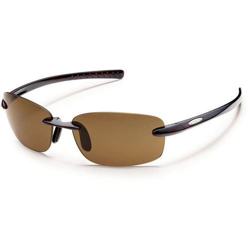 SUNCLOUD OPTICS Momentum Sunglasses (Tortoise Frames, Brown Polarized Lenses)