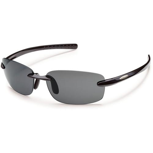 SUNCLOUD OPTICS Momentum Sunglasses (Black Frames, Gray Polarized Lenses)