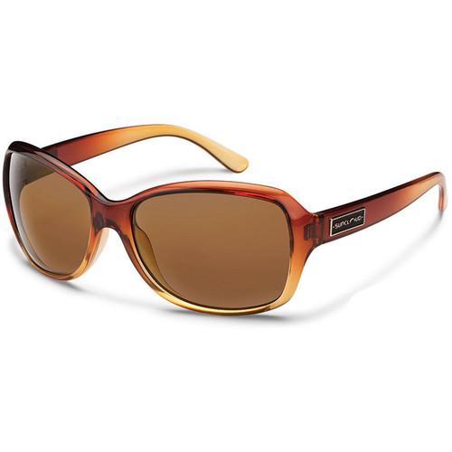 SUNCLOUD OPTICS Mosaic Sunglasses (Brown Fade Frames, Brown Polarized Lenses)