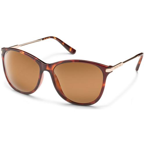 SUNCLOUD OPTICS Nightcap Sunglasses (Tortoise Frames, Brown Polarized Lenses)
