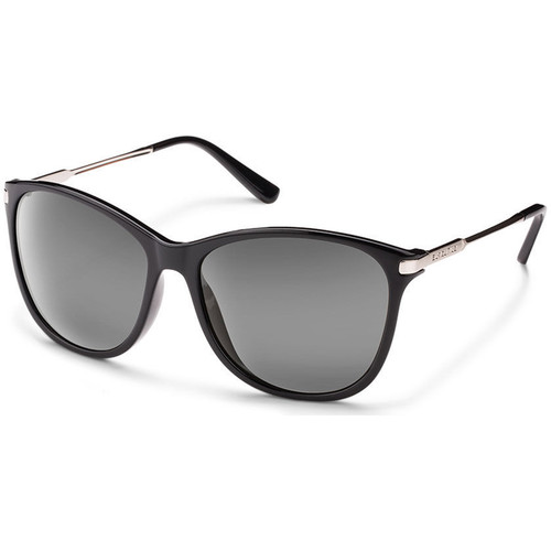 SUNCLOUD OPTICS Nightcap Sunglasses (Black Frames, Gray Polarized Lenses)