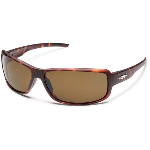 SUNCLOUD OPTICS Ricochet Sunglasses (Matte Tortoise Frames, Brown Polarized Lenses)