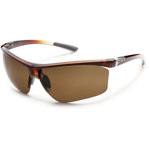 SUNCLOUD OPTICS Roadmap Sunglasses (Brown Fade Frames, Brown Polarized Lenses)