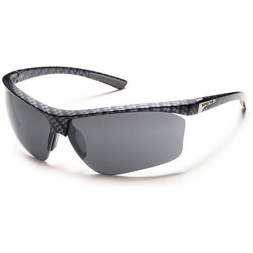 SUNCLOUD OPTICS Roadmap Sunglasses (Graphite Weave Frames, Gray Polarized Lenses)