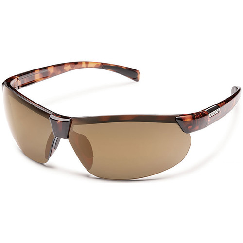 SUNCLOUD OPTICS Switchback Sunglasses (Tortoise Frames, Sienna Mirror Polarized Lenses)