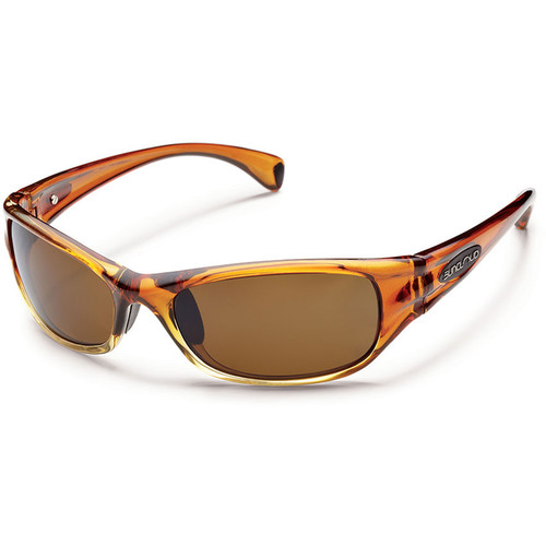 SUNCLOUD OPTICS Star Sunglasses (Rootbeer Fade Frames, Brown Polarized Lenses)