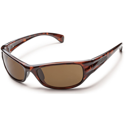 SUNCLOUD OPTICS Star Sunglasses (Tortoise Frames, Brown Polarized Lenses)