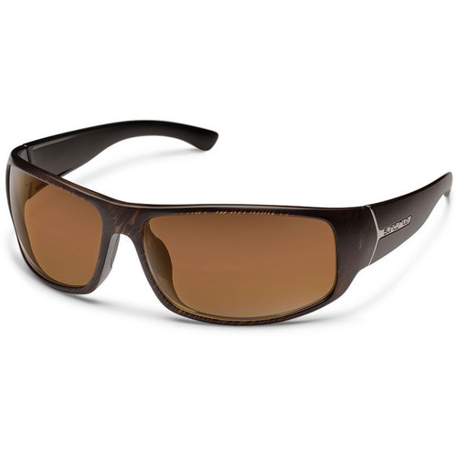 SUNCLOUD OPTICS Turbine Sunglasses (Blackened Tortoise Frames, Brown Polarized Lenses)