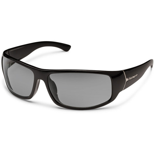 SUNCLOUD OPTICS Turbine Sunglasses (Black Frames, Gray Polarized Lenses)