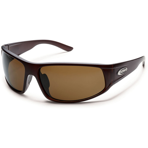 SUNCLOUD OPTICS Warrant Sunglasses (Matte Brown Frames, Brown Polarized Lenses)