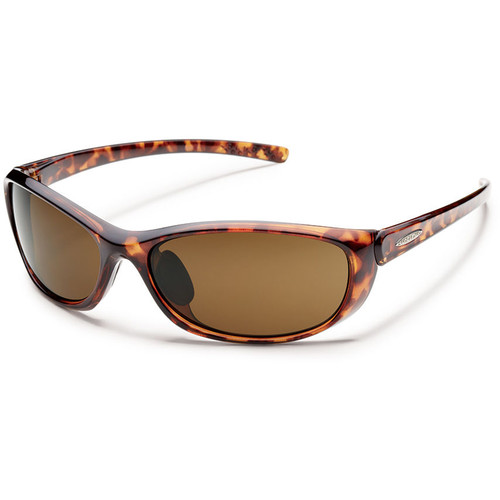 SUNCLOUD OPTICS Wisp Sunglasses (Polarized Brown / Tortoise)