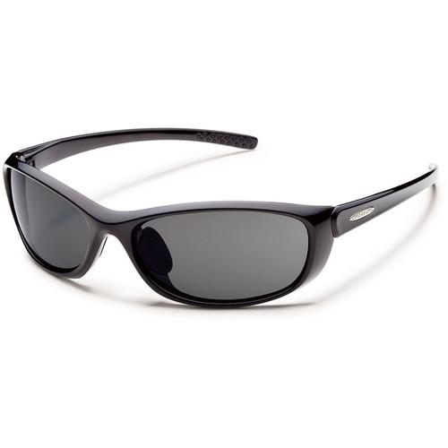SUNCLOUD OPTICS Wisp Sunglasses (Polarized Gray / Black)