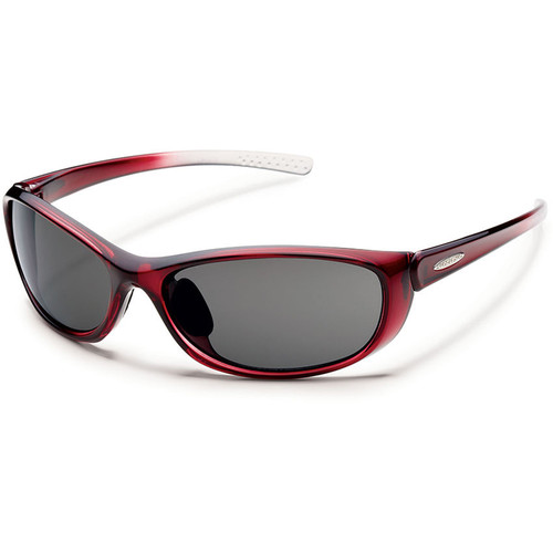 SUNCLOUD OPTICS Wisp Sunglasses (Polarized Gray / Wine)