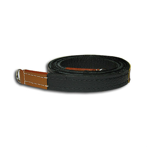 "Sunlows Leather Camera Strap with Ring (49.2"", Brown Ends)"
